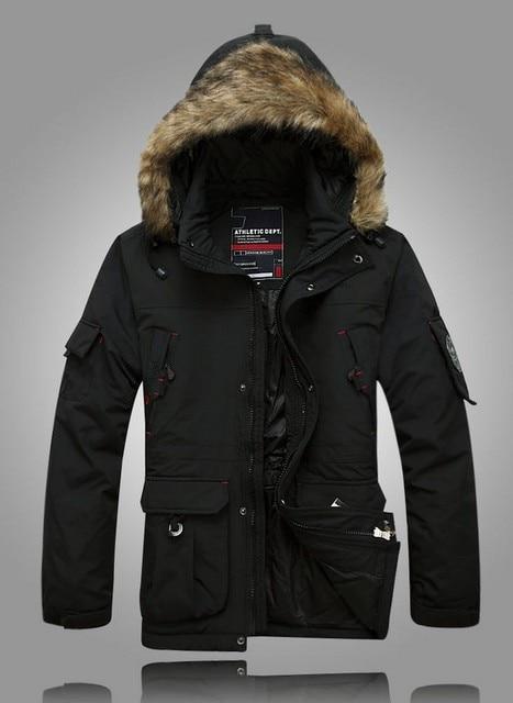 Por la chaqueta, men ' s de invierno marca Rhinoceros exterior impermeable caliente por la capa / M-5XL