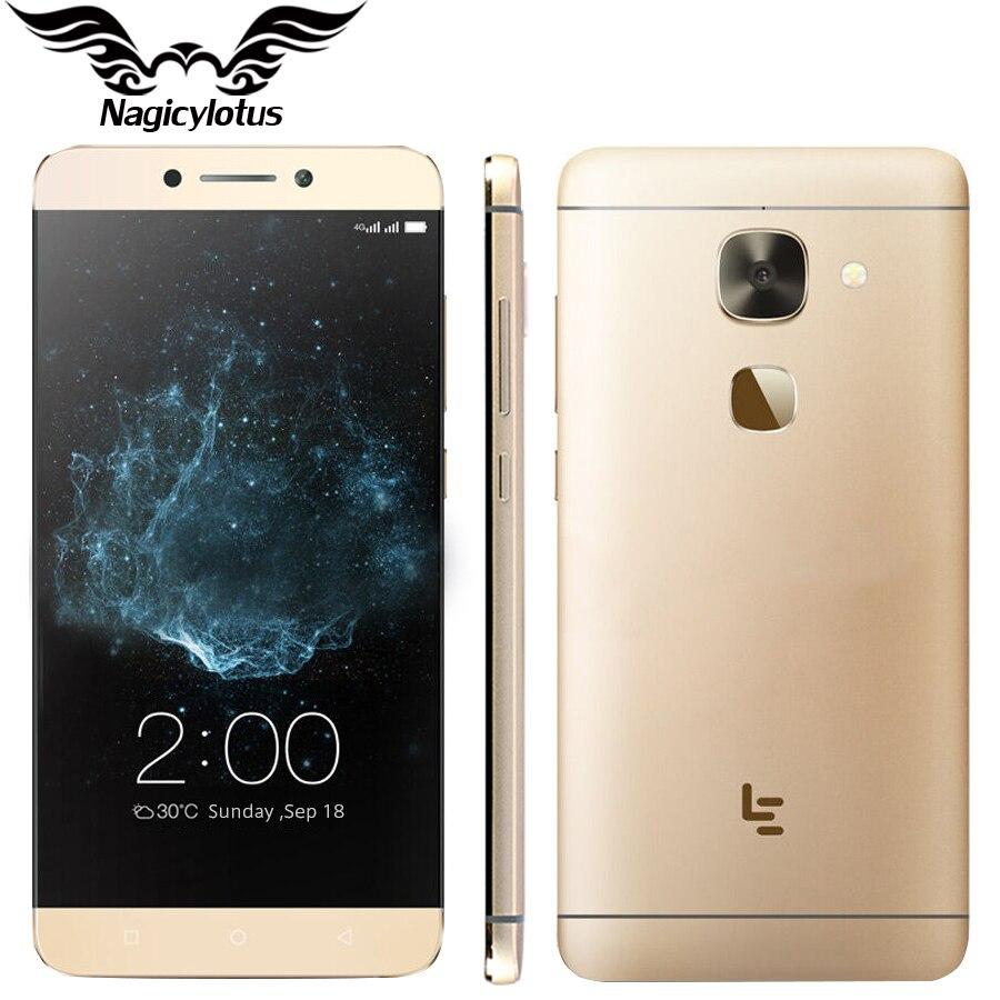 Оригинальный Letv LeEco Le Max 2x820 4 г LTE мобильный телефон 6 ГБ Оперативная память 64 ГБ Встроенная память Snapdragon 820 4 ядра 5,7 2560x1440PX 21MP телефон