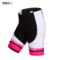 WOSAWE Quick Dry Gel Pad Cycling Shorts Ciclismo Maillot Women Mountain Bike Bicycle Sport Wear