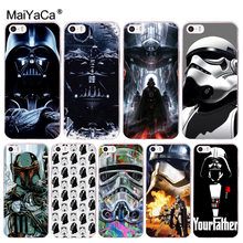 MaiYaCa guerra Estrela Transparente Case Capa Do Telefone para iphone 11 Pro 8 7 6 6S Plus X 10 5 XS XR XS XR XSMAX(China)