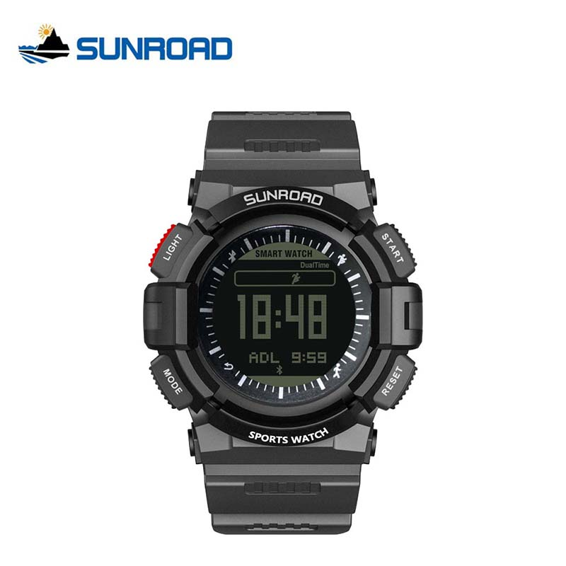 SUNROAD Sport Tracker Heart Rate Monitor Watches Bluetooth Call Reminder Watch Men Mobile Finding Waterproof Relogio Masculino wireless service call bell system popular in restaurant ce passed 433 92mhz full equipment watch pager 1 watch 7 call button
