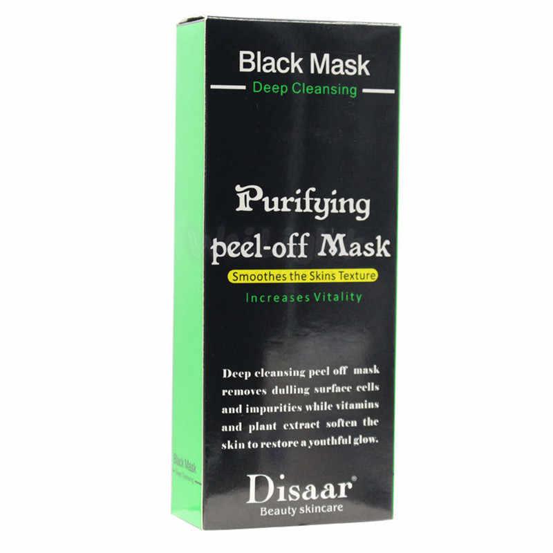 Perawatan Wajah Lumpur Hitam Pembersihan Suction Masker Peel Off Facial Masker Hidung Komedo Remover Jerawat Perawatan Drop Pengiriman