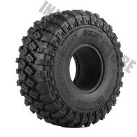 4PCS/Set 1.9 123*45MM Rubber Wheel Tires for 1/10 RC Crawler Truck Traxxas TRX 4 Axial SCX10 90046 90047 RC Car Tyres