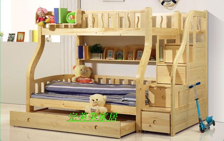 Wood Bold Stepping Ladder Cabinet Bed Children S Furniture At The Level Of Can Be Customized Picture Guangzhou In Sets