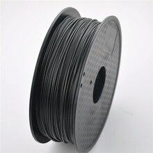 3D Принтер Нити Углеродного Волокна 1.75 мм/3 мм 0.8 кг высокопрочный Материал для MakerBot/RepRap/UP/Менделя