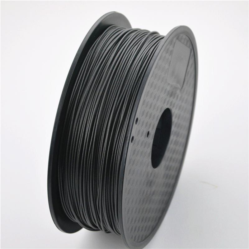 Prix pour Imprimante 3D Fiber De Carbone De Filament 1.75mm/3mm 0.8 kg haute résistance Matériel pour MakerBot/RepRap/UP/Mendel