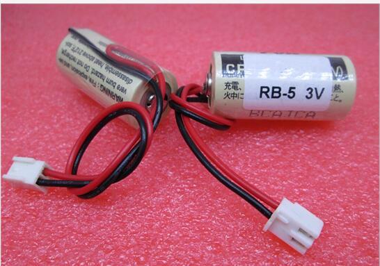 NEW RB 5 CR17335SE 3V 1800mah lithium battery PLC Li ion battery with plug