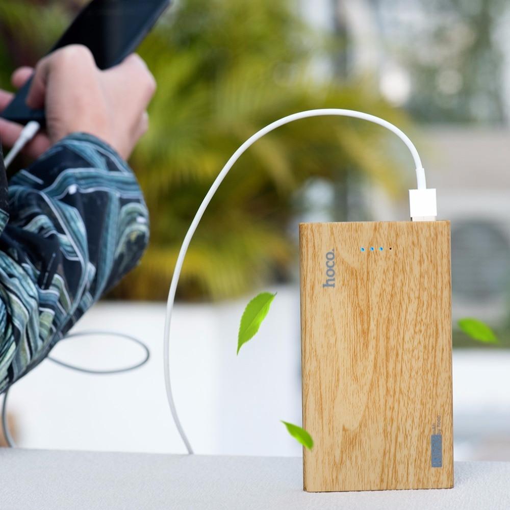 bilder für Original HOCO B12B Praktische ultradünne Energienbank Mobile Power Universal-ladegerät für Handy mit Großer Kapazität 13000 mAh