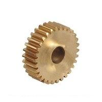 0.8 0.8m22 tooth plane Copper mold metal precision small modulus gear -