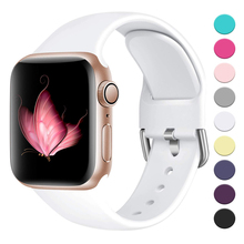 Strap For Apple watch band 4 3 44mm 42mm 40mm 38mm iwatch Bracelet correa For Apple Watch Series 4/3/2/1 Accessories 42mm 38mm for apple watch s3 series 3