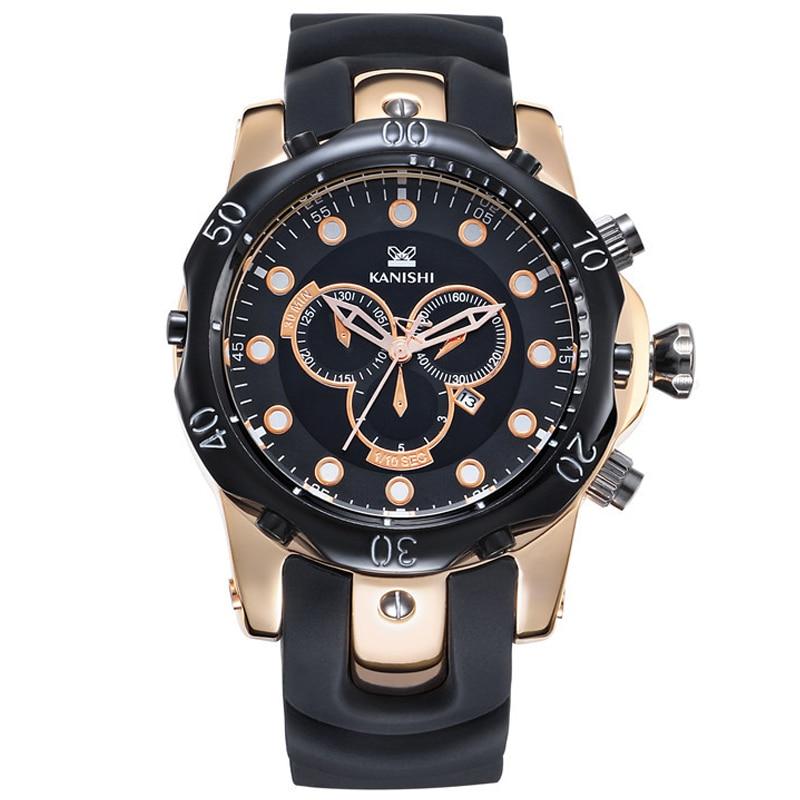 Top Famous Brand Men Military Watch Big Dial reloj de pulsera grande - Relojes para hombres