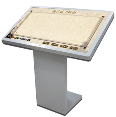 42'' Led Lcd TFT HD Touch Display Electronic Signature Message System Can Print Take Photos E-sign Digital Signage With Software