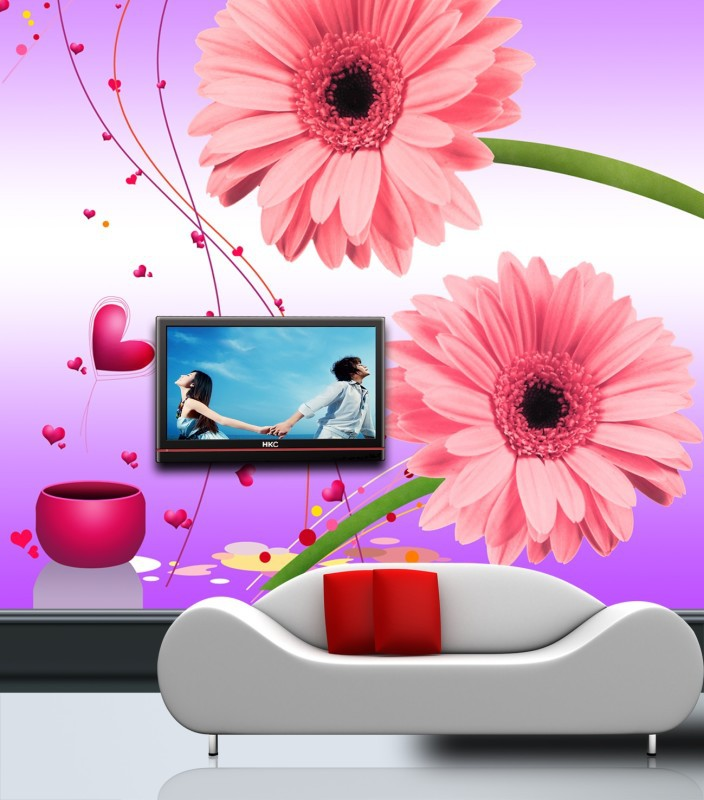 Large beautiful fioral mural 3d papel de parede useage living room 3d wallpaper 3d wall paper mural for sofa tv background custom large mural papel de parede beautiful fantasy lavender wallpaper living room tv sofa wall bedroom 3d modern wallpaper