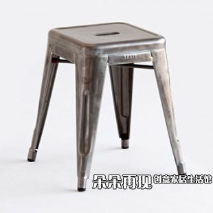 Small Metal Stool Stool Bar Stool Chair Marais Chair Short Iron Metal  Outdoor Metal Fangdeng In Bar Stools From Furniture On Aliexpress.com |  Alibaba Group
