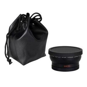 Image 3 - 0.45x52mm 52 Fisheye Grandangolare Macro di Conversione Grandangolare Lens Bag 62mm Cap per Nikon D5000 D5100 D3100 D7000 D3200 D90 1 pz