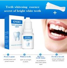 EFERO 1 Set Teeth Whitening Essence Powder Teeth Cleaning Removal Plaque Smoke Stains Tooth Bleaching Dental Care Tools TSLM2