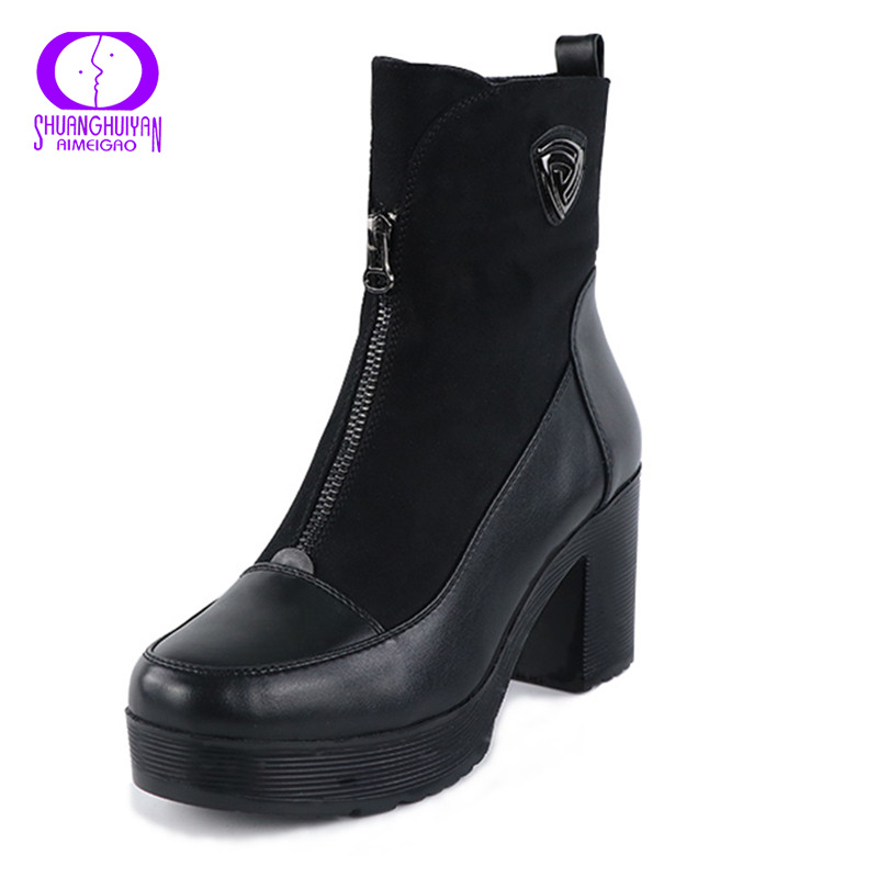 Online Get Cheap Black Suede Ankle Boots -Aliexpress.com | Alibaba ...