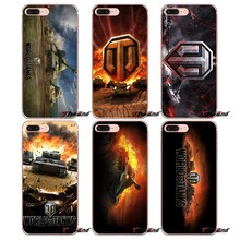 Para o iPhone Da Apple X 4 4S 5 5S SE 5C 6 6 S 7 8 mais 6 Mais 7 mais 8 mais Fundas Coque jogo world of tanks WOT Logo arte Suave caso(China)