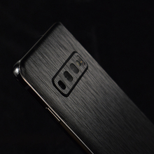 HOT!!Metal Brushed Pattern Decorative Back For Samsung Galax