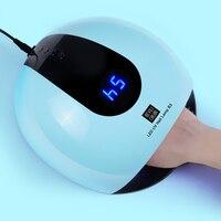 New Professional 80W Led Lamp Nail Dryer All Gel Polish Varnish Manicure Machine Nail Art Tools Drying LED Gel Nail Lamp