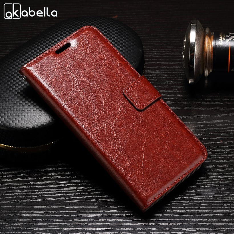 Galleria fotografica AKABEILA PU Leather Phone For Samsung Galaxy J3 2016 J300 Case J310 J310F J310H J310M SM-J320 J300F Case Cover Wallet Housing