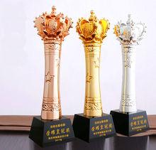 Купить с кэшбэком High quality!Crown Resin Trophy Champion Trophy Custom King Glory Trophy Souvenir,Free shipping