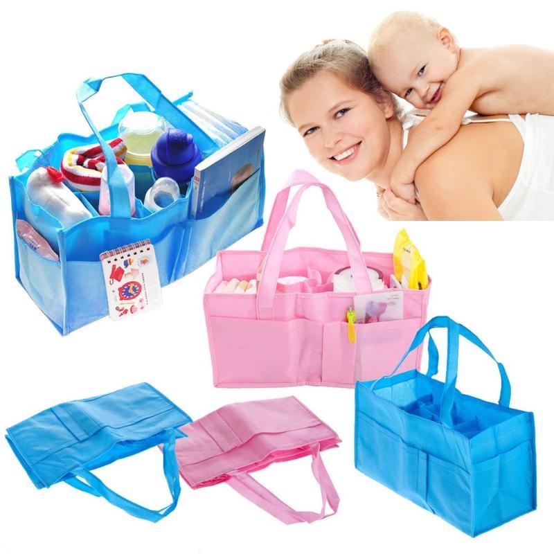 1 Pc Windel Tasche Mama Mutterschaft Windel Taschen Pflege Tasche Baby Pflege Große Kapazität Baby Reise Handtasche Infant Kinderwagen Zubehör Moderater Preis