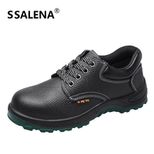 Men Insulation Outdoor Steel Toe Bootsmens Labor Insurance Puncture Proof Shoes Men Safety Work Quality Ankle Boots AA51606