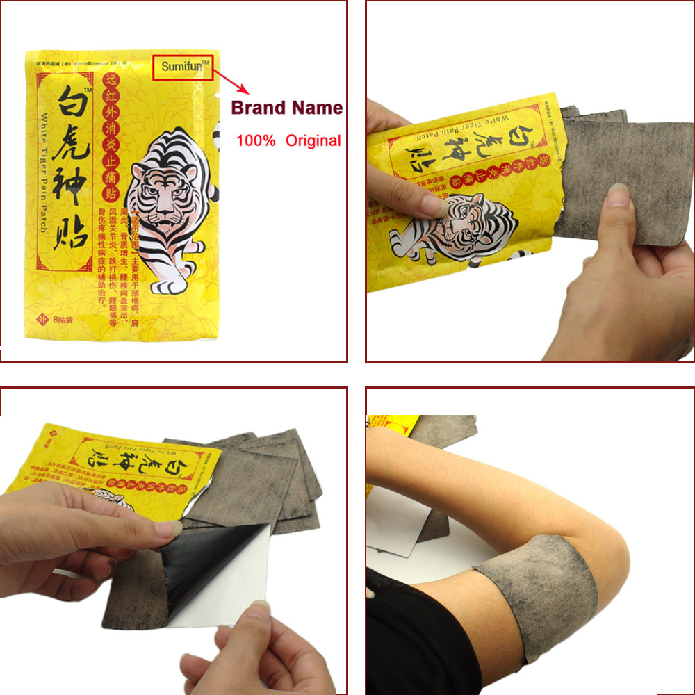 80Pcs Orthopedic Plaster Arthritis Pain Relief Patch Medical Neck Muscle Cervical Acupuncture Infrared Heating Massager K00310 in Patches from Beauty Health