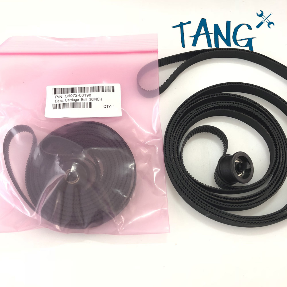 5SETS high quality Carriage Belt For HP 1050 1055CM 1055C C6072 60198 36 inch