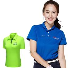 2016 Authentic Women Golf Clothing Summer T-shirts POLO Shirts with Short Sleeves Comfortable Breathable