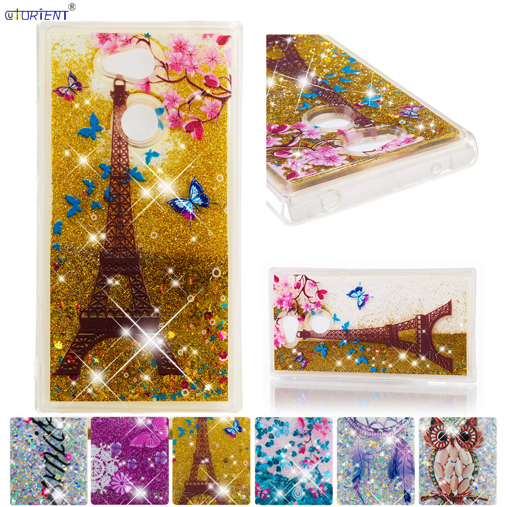 Half-wrapped Case Phone Bags & Cases Efficient For Sony Xperia L2 Bling Glitter Stars Dynamic Liquid Quicksand Phone Case Xperial2 H3311 H3321 H4311 H4331 Fitted Cover Funda
