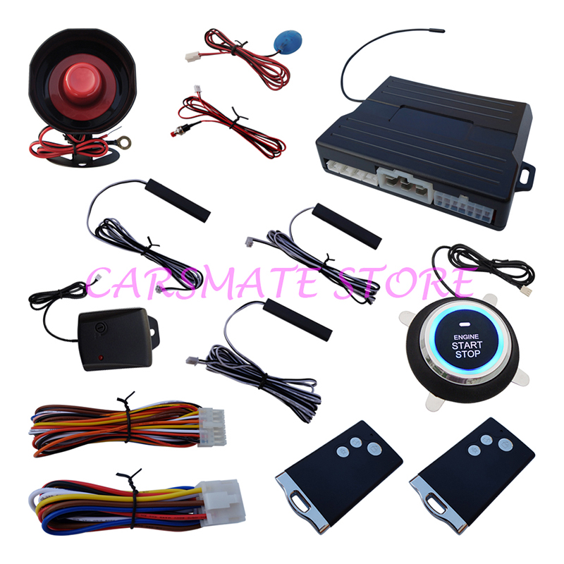 Car PKE Alarm Security System Passive Ke