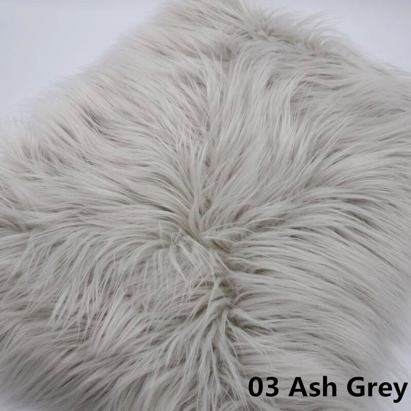 175*100 cm couverture en fausse fourrure mongolie nouveau-né Photo accessoires fourrure artificielle couverture panier couverture Photo toile de fond