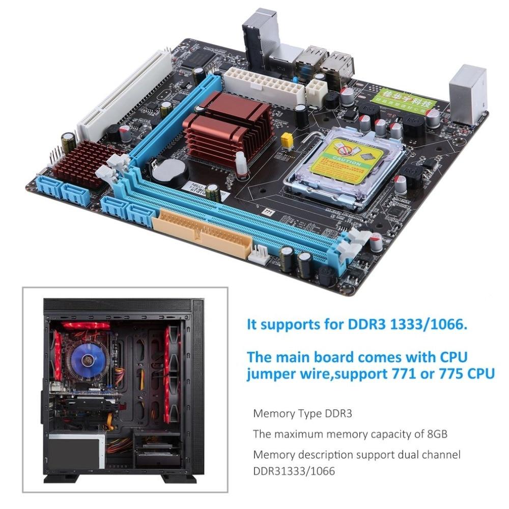 все цены на LGA 771/775 Dual Board ,DDR3 Support L5420 Motherboard P45 Computer Mainboard 8 GB Intel Nuclear 2 DDR3 Motherboard онлайн