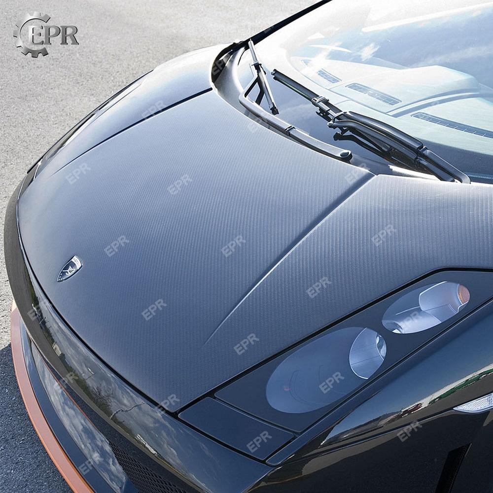 Tireless For Lamborghini Gallardo Lp550/lp560/lp570 Carbon Fiber Hood Facelifted Body Kits Tuning Trim Accessories Gallardo Carbon Hood Latest Fashion Exterior Parts