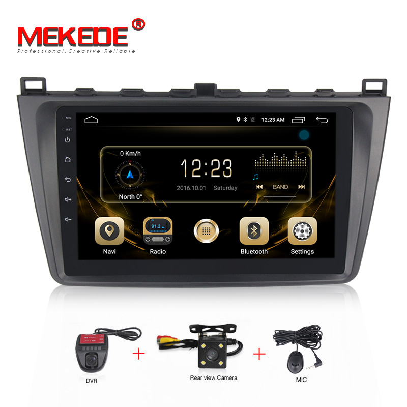 Aliexpress Com Buy Mekede 1024 600 10 Android 7 1 Car Dvd Player For Mazda 6 2008 2009 2010