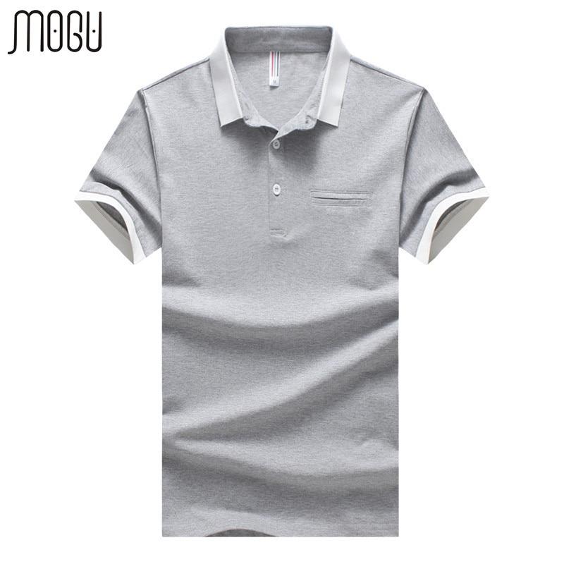 MOGU Solide männer Poloshirt Mit Kurzarm 2017 Sommer Neue Mode - Herrenbekleidung