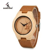 Zegarek drewniany BOBObird Cervo