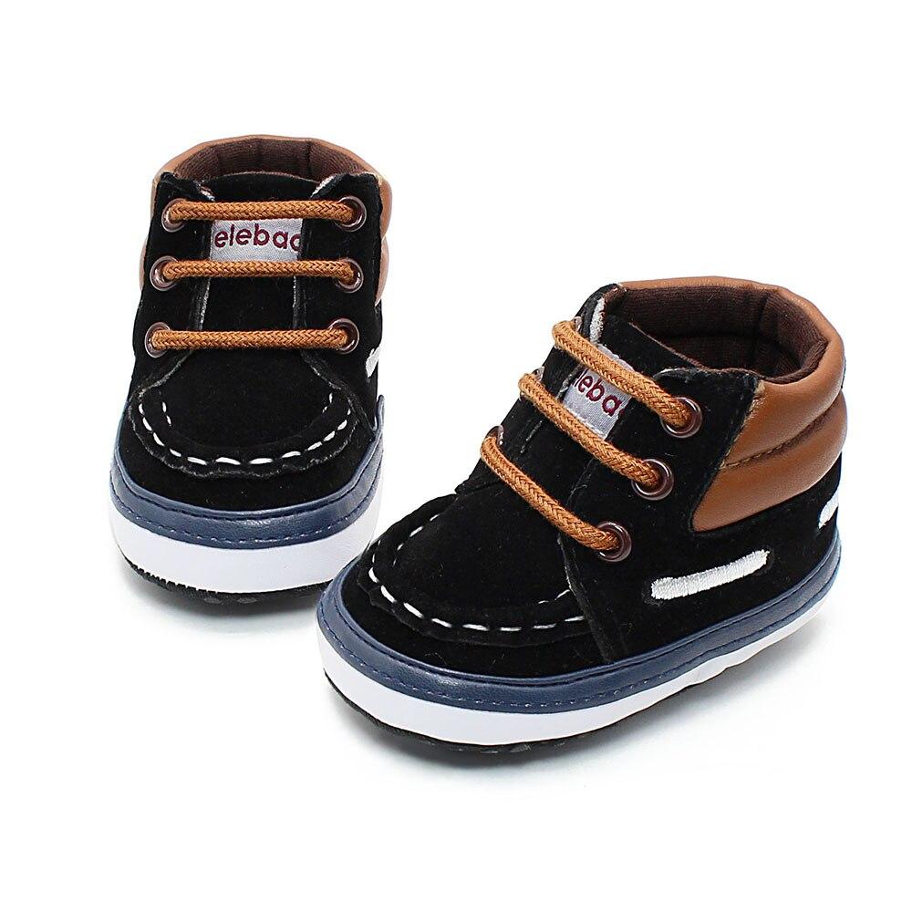 Otoño Primavera Helada Textura Borla Inferior Suave Zapatos Del Niño Por mano De