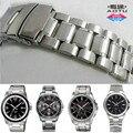 Aotu 316l pulseira de aço inoxidável à prova d' água durável cintas para casio mtp-1328b 1374dl/sg 1375 1379d/l homem relógio banda + ferramenta gratuita