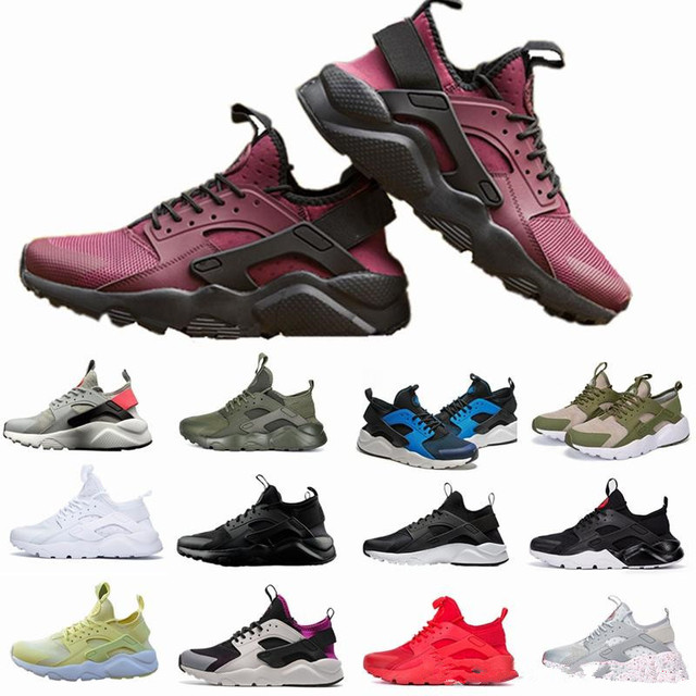 413a97282b01 2018 New Huarache IV Ultra Running shoes Huraches trainers for men   women  Multicolor shoes Triple Huaraches sneakers