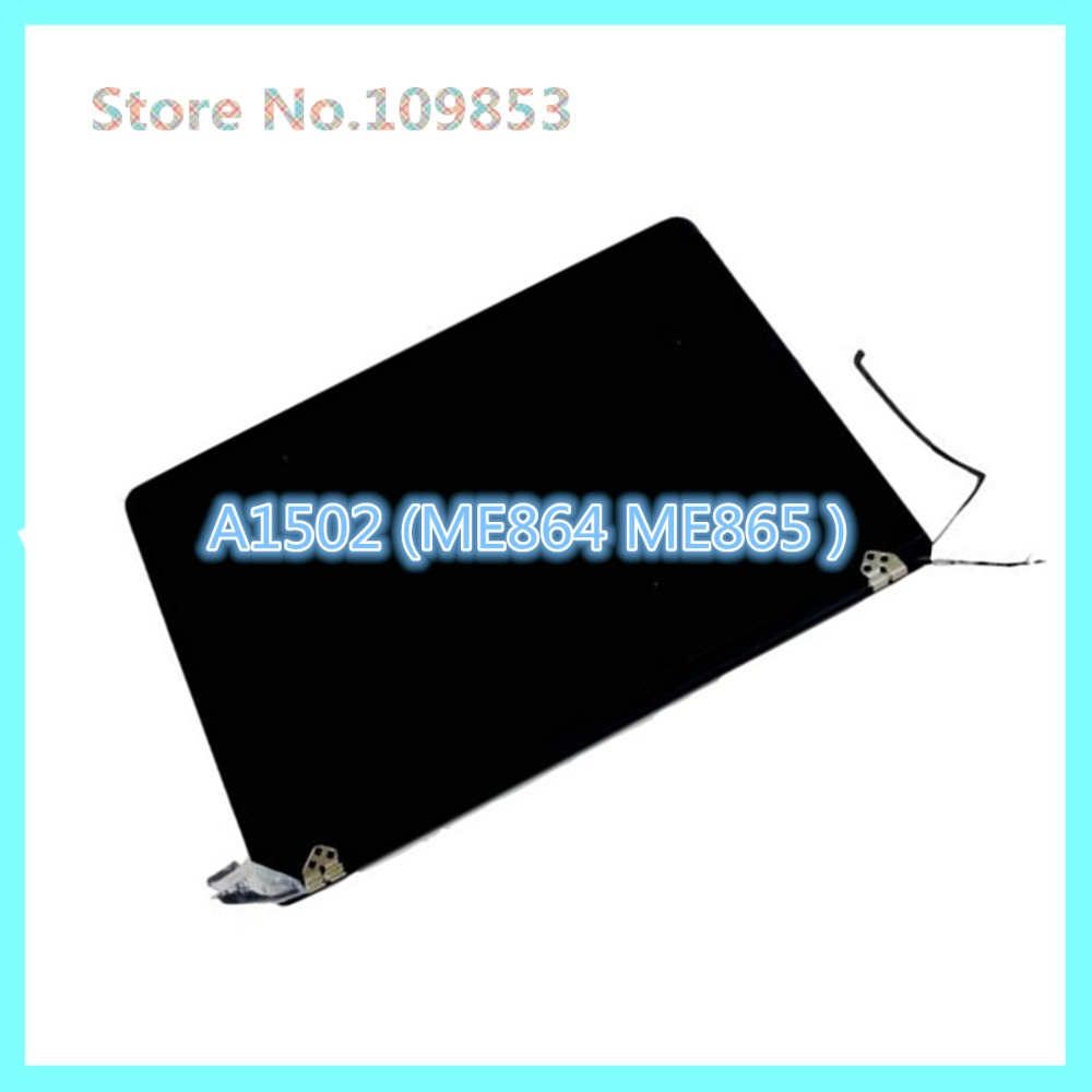 Genuine NEW For Apple macbook Pro Retina A1502 2013 2014 years A1502 ME864 ME865 LCD Assembly led screen display