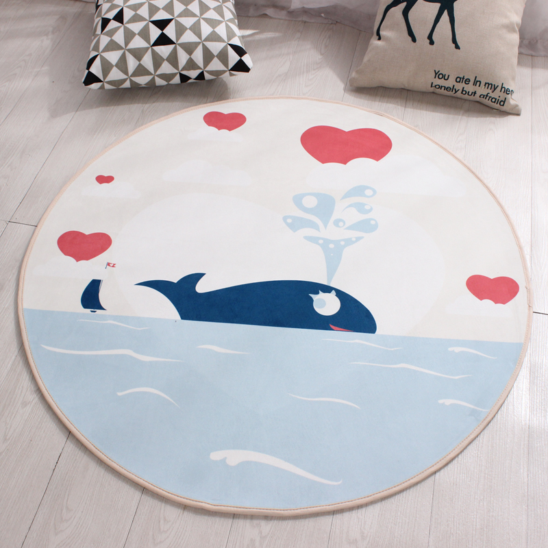 Large Round Carpet Used In The Living Room Fashion Kitchen Floor Mat Game Carpet For Childrens Room Rugs Tapetes Para Casa Sala