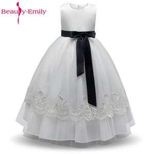 bfce2268e67c Beauty-Emily Flower Girl Dresses Party Girls Gowns