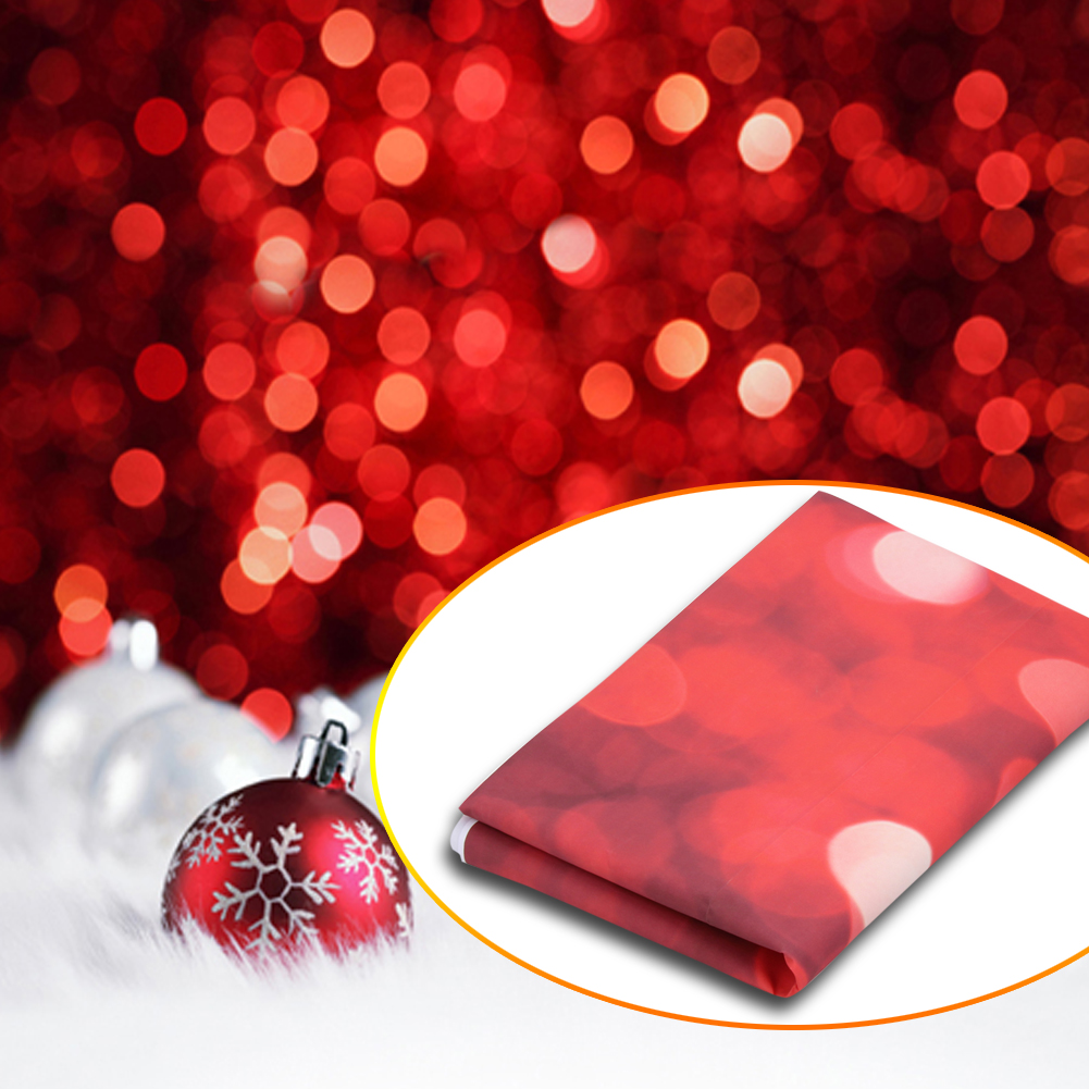 5x7FT Christmas Snow Ball Studio Photo Backdrop Photography Background Props NEW