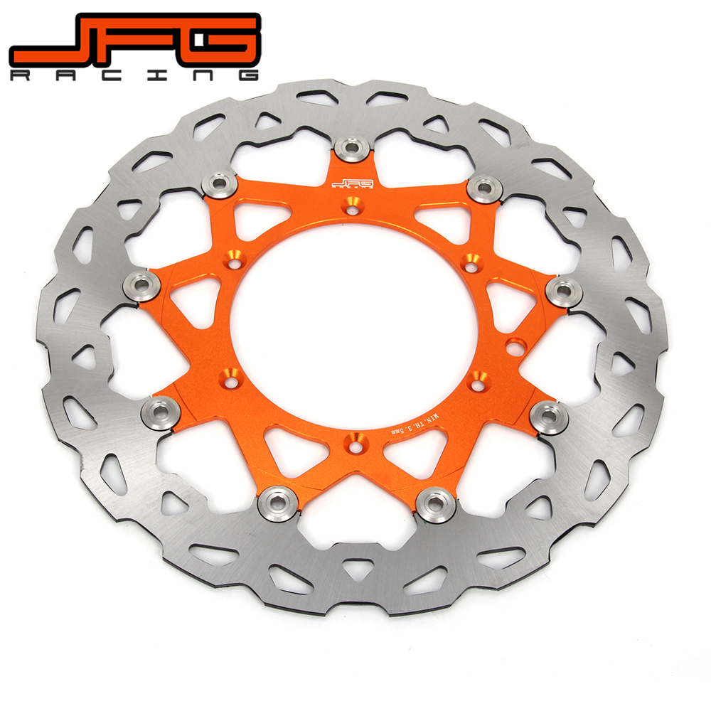 320MM Oversize Front Floating Brake Disc Rotor For KTM EXC GS EXCF SX SXF SXS XC XCR XCW XCF XCRF MXC MX SMR SIX DAYS Supermoto front brake disc rotor for ktm 380 exc 1998 1999 2000 2001 2002 sx mxc 1998 2001 400 egs exc g xc w 2007 2008 2009 07 08 09