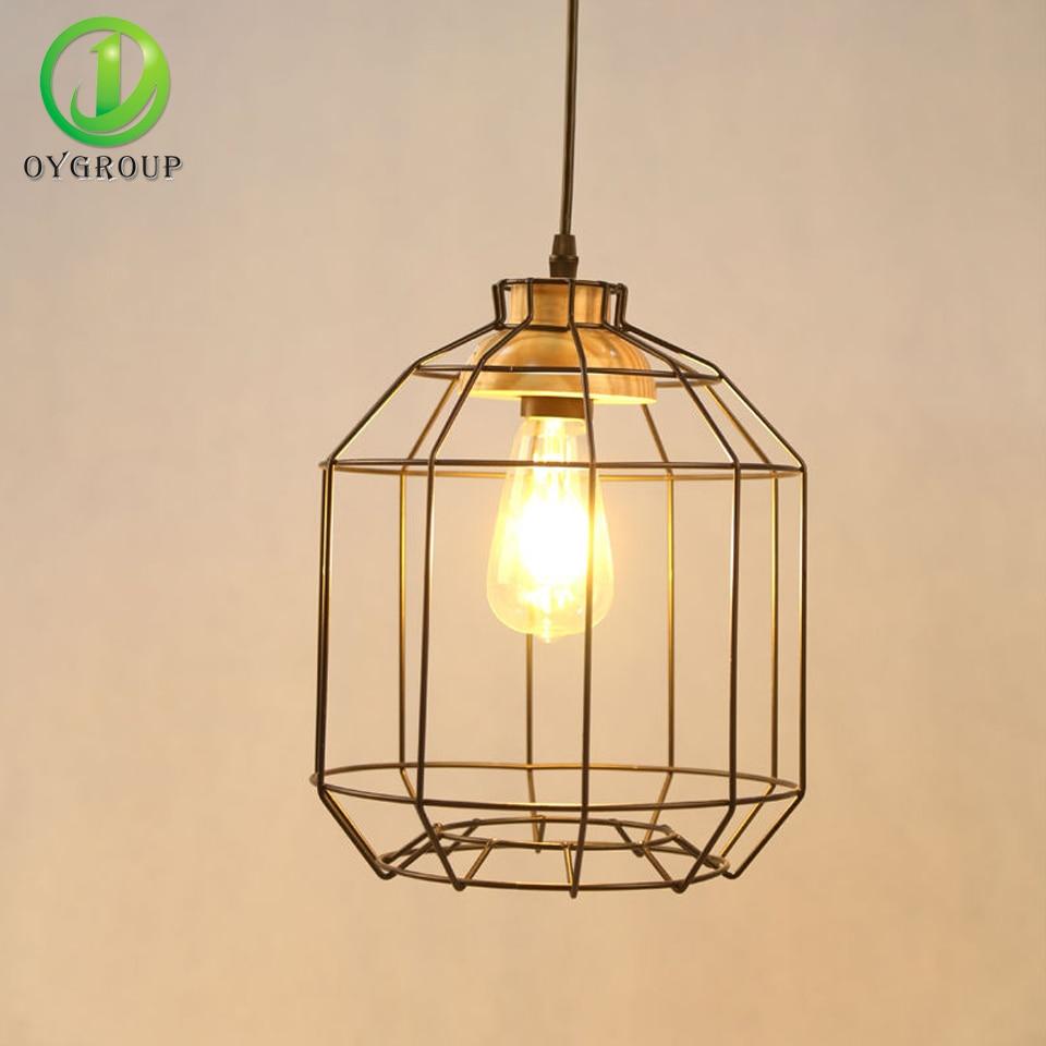 NEW Vintage Iron Black Hanging Pendant Light lamps Industrial Loft ...