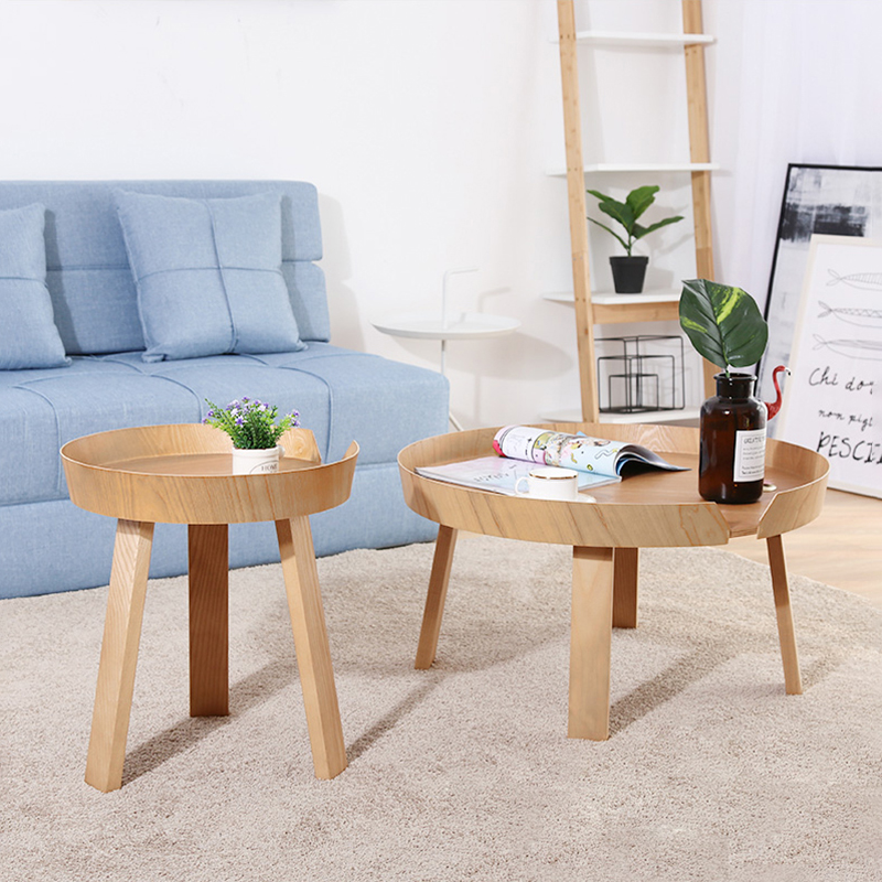 Nordic Combination Solid Wood Coffee Table Modern Minimalist