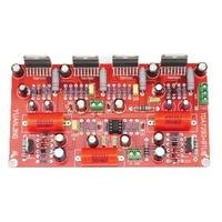 KYYSLB DC+ 30~35V Mono NE5532 Home Audio Power Amplifier Board TDA7293 Parallel + BTL 350W Power Amplifier Board